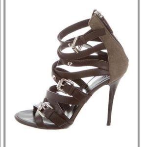Giuseppe Zanotti Leather Multi-strap Sandals